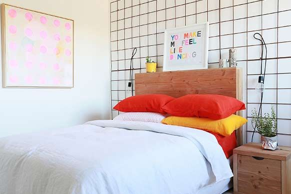 The Block Sky High: Room Reveal: Madi + Jarrod's bedroom and ensuite