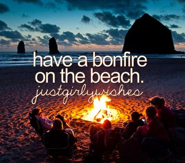 Omg I just had a bonfire on a beach with the sun setting. I was on vacation with my family that I hadn't seen in 2 years. We stayed in a beach house for 4 days and we aren't gonna see our family for another year ;( I'm tearing up, we had SOO much fun...