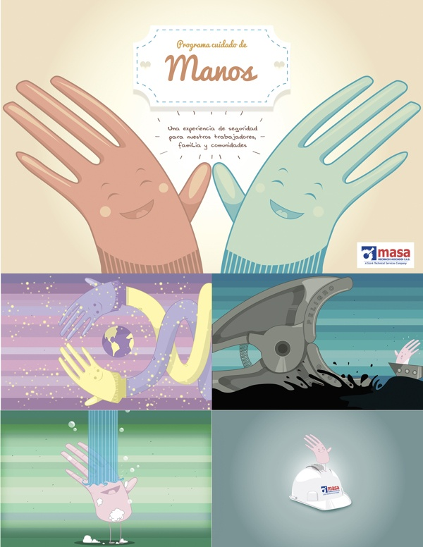 Illustrations by Andres Gomez, via Behance