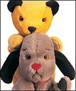 Sooty and Sweep.