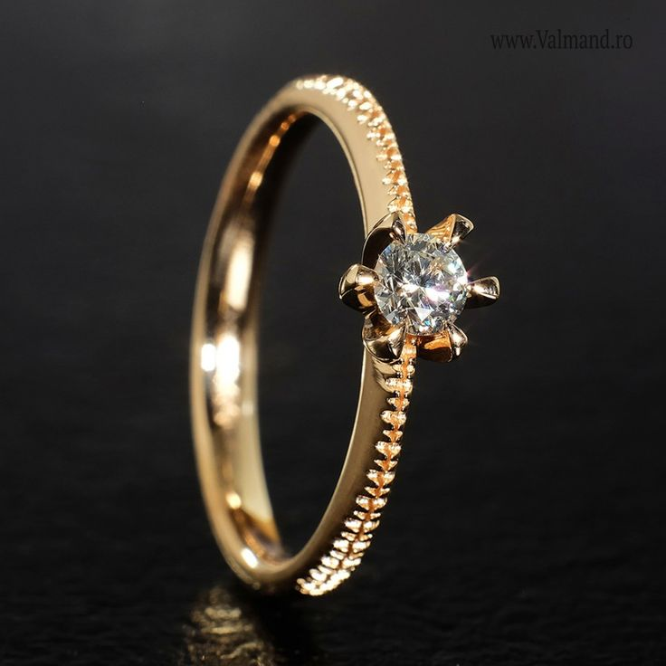 Inel de logodna din Aur cu diamant 220