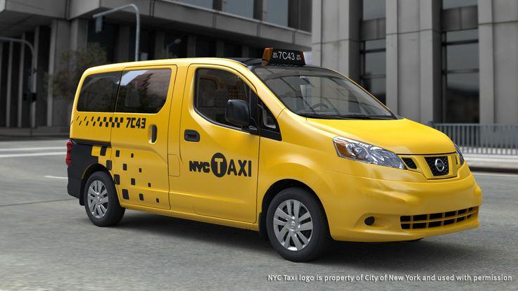 taxi | Nissan | Taxi New Yorkais, le Nissan NV200