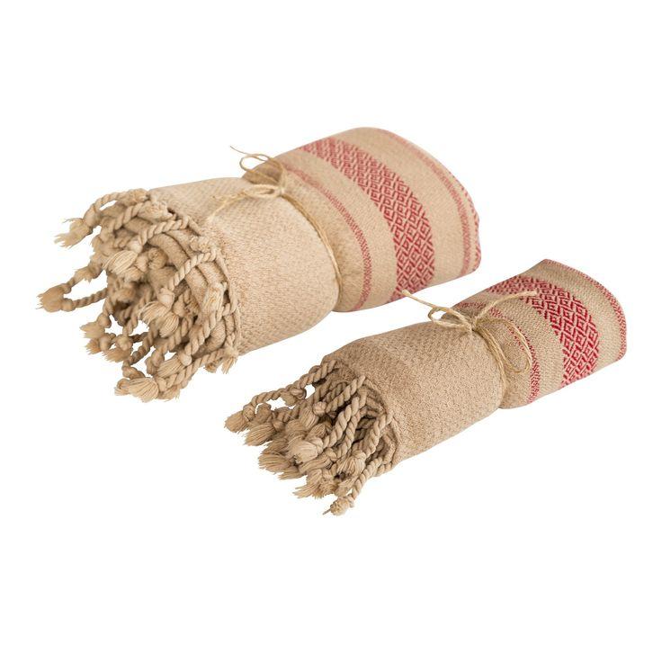 Siena Peshtemal Towel Set - Camel