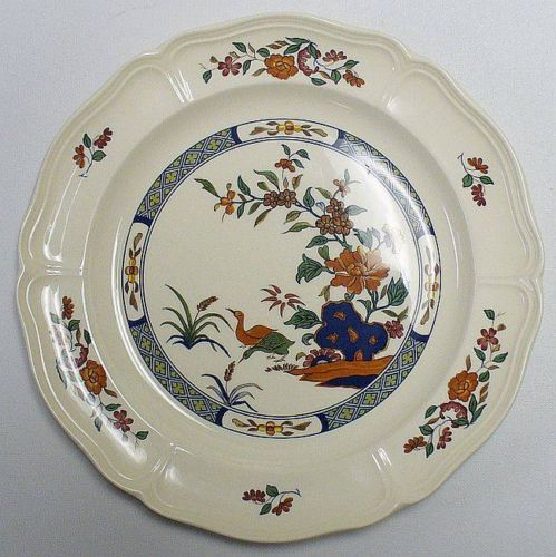 Wedgwood Chinese Teal Dinner Plate Discontinued Pattern | eBay