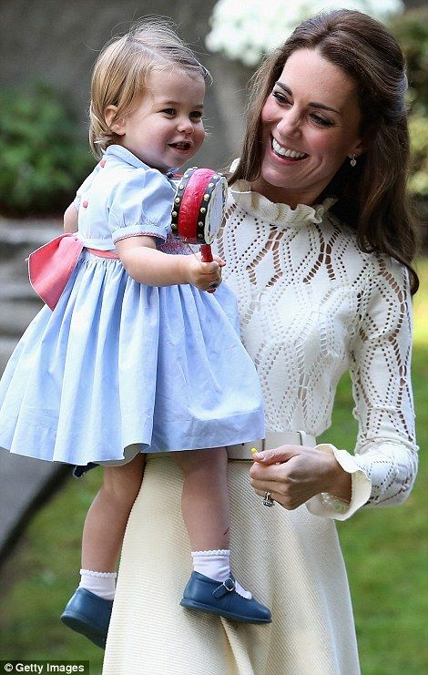 Princess Charlotte and Prince George are guests of honour at party #dailymail