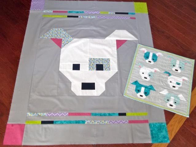 Puppy Dog Quilt Block Pattern By Sew Fresh Quilts パッチワーク
