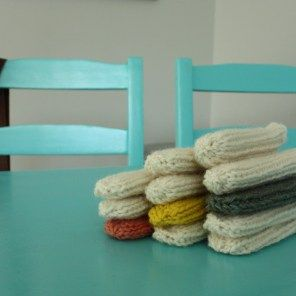 Small Things: DIY On-Trend Chair Socks                                                                                                                                                     More