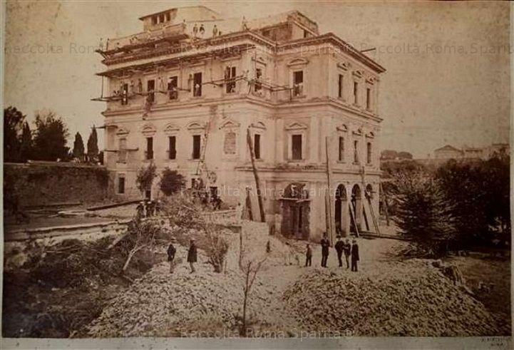 Casino Negroni di Villa Peretti Montalto Anno: 1868