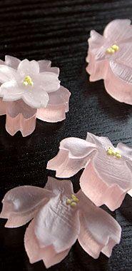 """和菓子、春 … [淑女に贈るは""""花より和菓子""""]"""