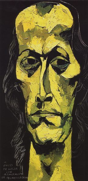 Retrato de Paco de Lucía (1947-2014)