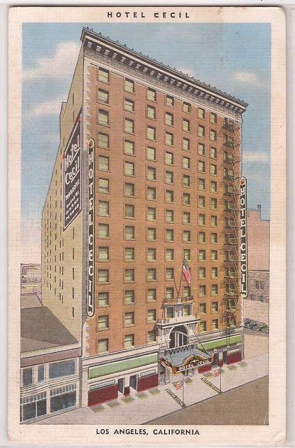 Phantom Los Angeles: Hotel Cecil, Downtown Los Angeles