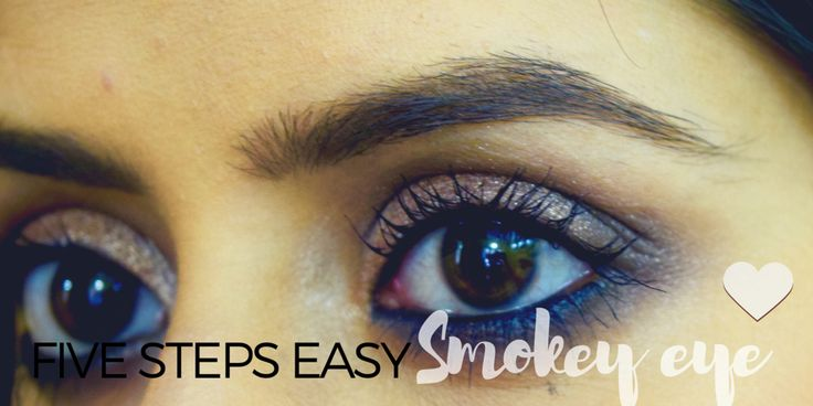 Easy How to do Smokey eye for beginners!! https://youtu.be/iegPaQouJTc