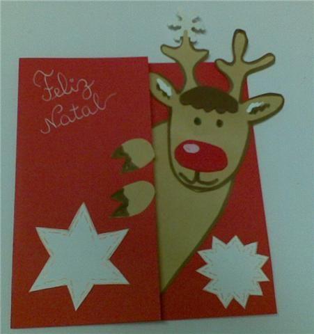 cartões artesanais de natal - Pesquisa Google