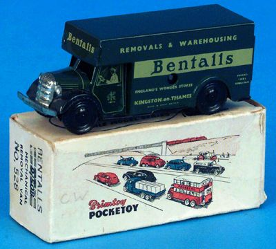 "Brimtoy ""Pocket Toy"" Removals Van"