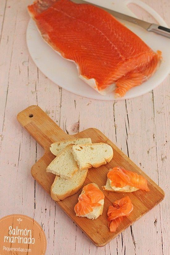 Salmón marinado, una receta fácil y deliciosa
