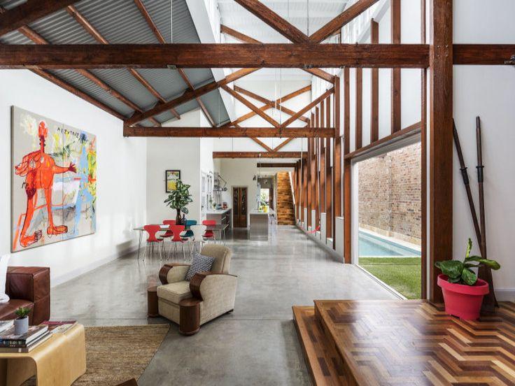 Tempe Warehouse Conversion. 3 Bedroom HouseWarehouse ConversionAustralian HomesBeautiful  InteriorsHouses ...