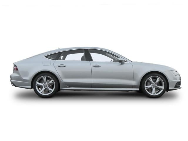 Audi A7 Diesel Sportback profile view