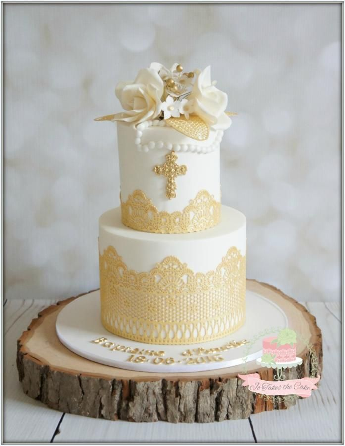White Gold Baptism by Jo Finlayson (Jo Takes the Cake)