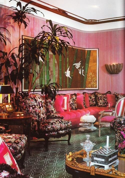 interior design by Ron Wilson  Architectural Digest october 1980