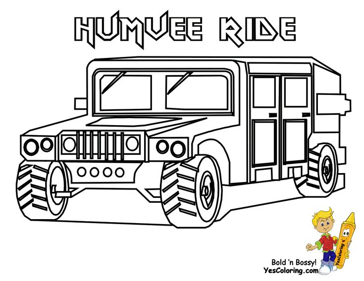 8 best military vehicles coloring pages images on for Army vehicles coloring pages