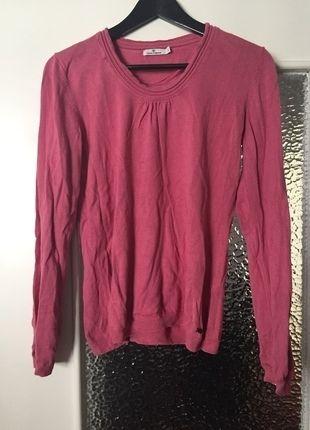 Kaufe meinen Artikel bei #Kleiderkreisel http://www.kleiderkreisel.de/damenmode/pullis-and-sweatshirts-langarmlig/123842692-rosa-pullover-von-tom-tailor