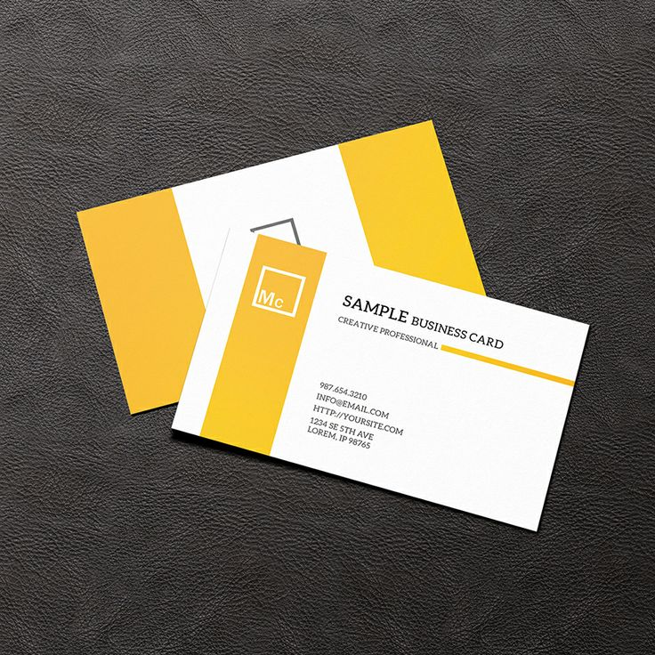 Free business card mock up business card free mockup for Business card presentation template psd