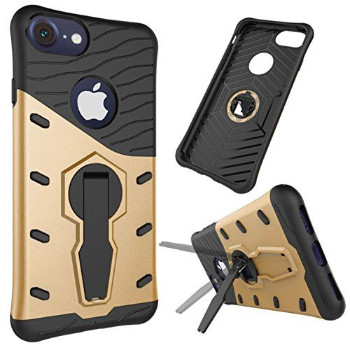 For iPhone 7 Case,Vandot Heavy Duty Rugged Dual Layer [Tough Armor] with Kickstand Protective Cover Ultimate