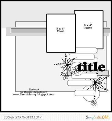 creating {non}sense: Scraptastic Club Sketchy Thursday