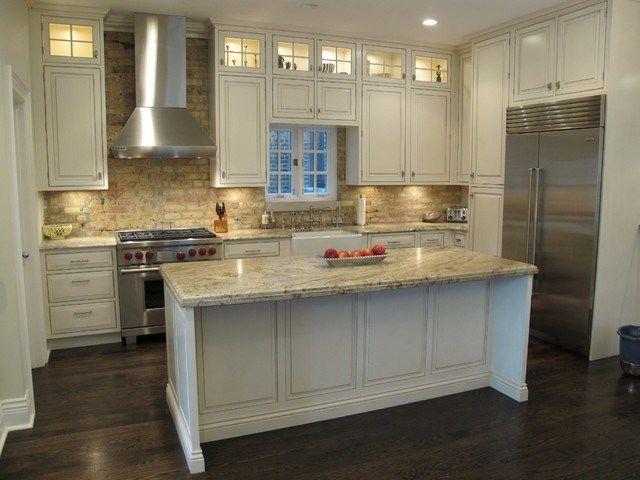 winning kitchen brick backsplash chicago traditional kitchen modern nolte kitchen cabinets chicago