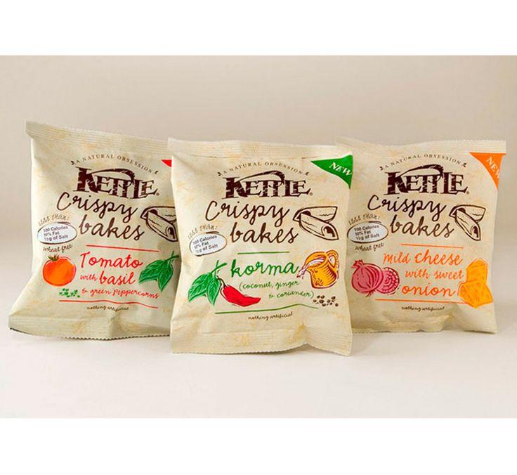 Kettle Crispy Bakes packaging