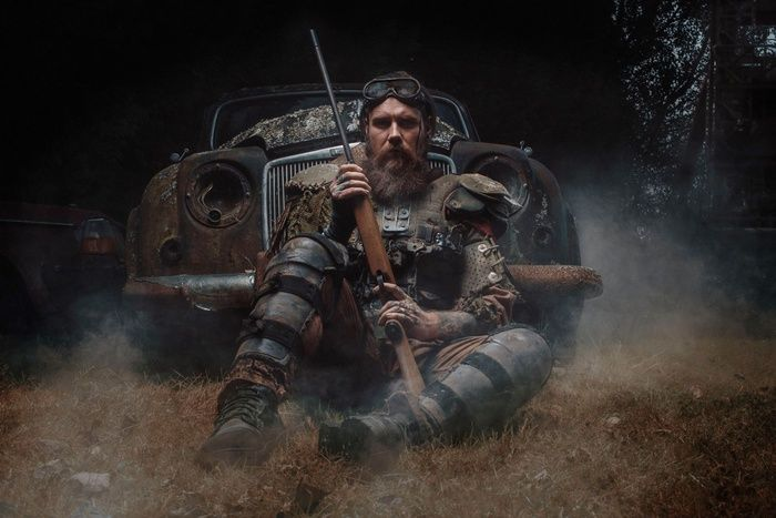 """""""Post apocalyptic series -1"""" by Jon Roberts -  #fstoppers #Conceptual #postapocolyptic #conceptphotography #ConceptualEditorial #wasteland #madmax #apocalyptic"""