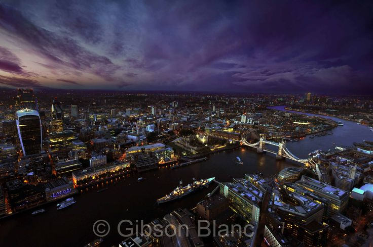 London from the Shard... © Gibson