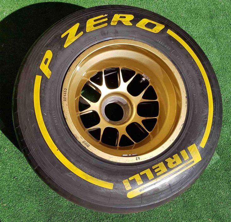 FORMULA 1 PIRELLI ORIGINAL GENUINE NEW TYRE & BBS WHEEL RIM P ZERO F1 FIA TAG  | eBay