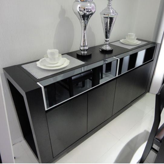 Modern Dining Room Furniture Sideboard Cabinet Office minimalist stylish restaurant wine lockers to three bags at home