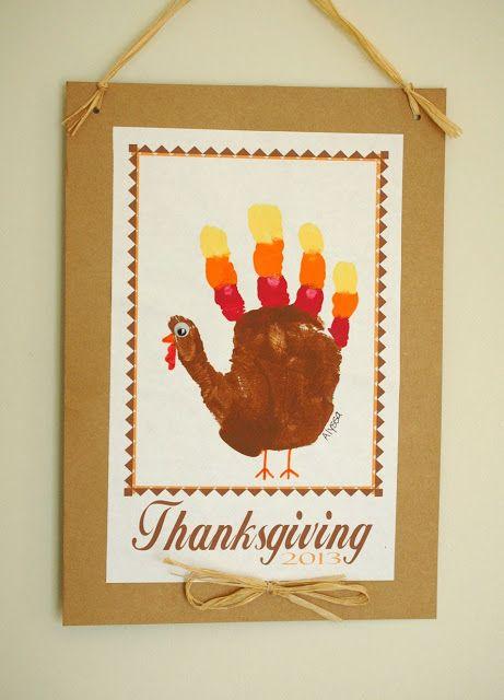 The 25 Best Hand Print Turkey Ideas On Pinterest