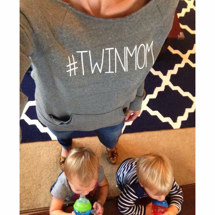Blog post about being a twin mom...