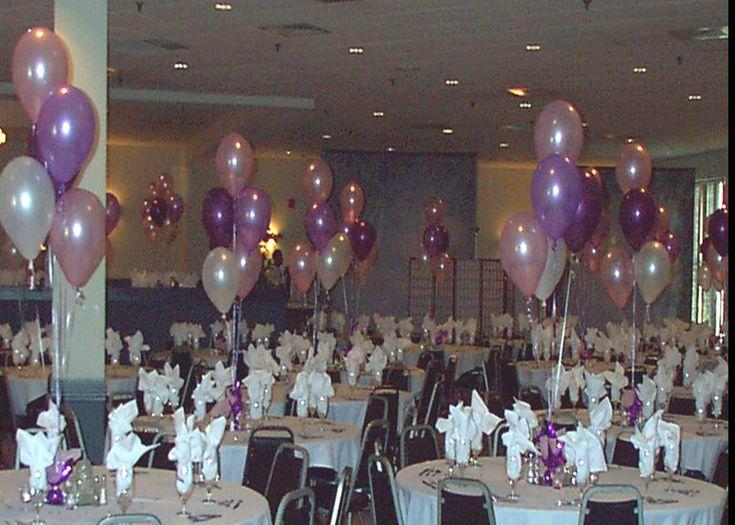 Quince party quinceañera balloon decor decoration