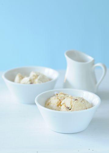 Oříšková zmrzlina