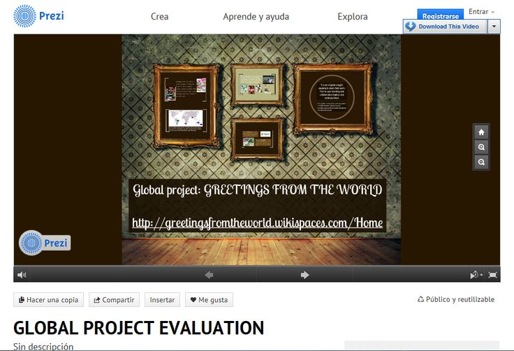 My Global Project Evaluation  - project evaluation
