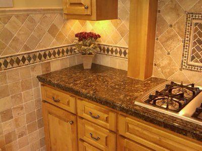 travertine tile backsplash travertine tile backsplash on