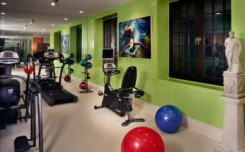 Our Home Gym Color Inspiration Lime Green For Our Home