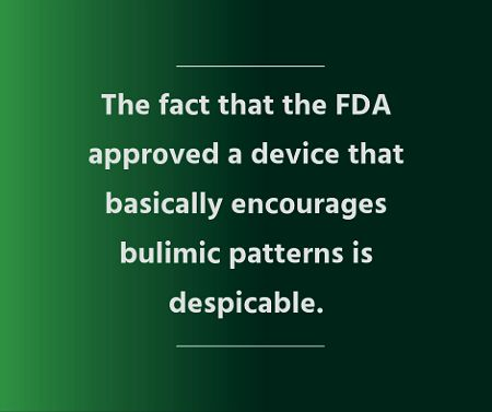 """""""Assisted Bulimia"""" Tool Negates the Seriousness of Eating Disorders"""