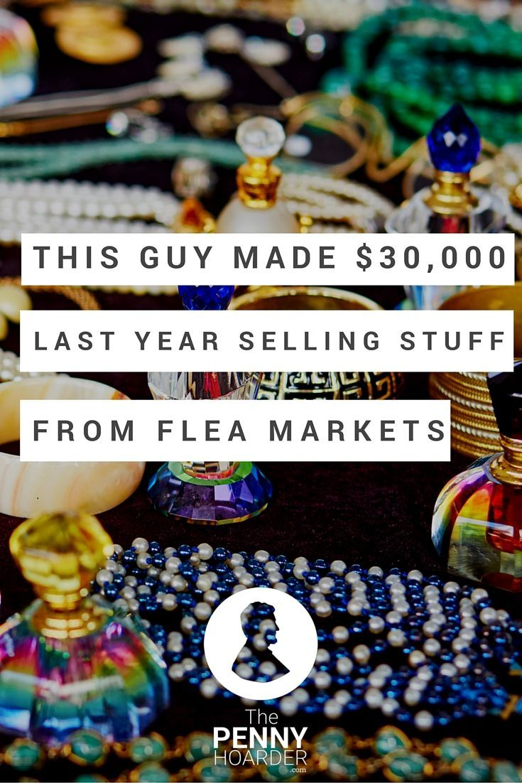 This guy has turned thrifting into a solid side hustle -- one that pays pretty darn well. Here's how he finds the treasures that wind up selling on eBay and earning him an average of $3,500 a month. - The Penny Hoarder http://www.thepennyhoarder.com/side-hustle-selling-on-ebay-30000/