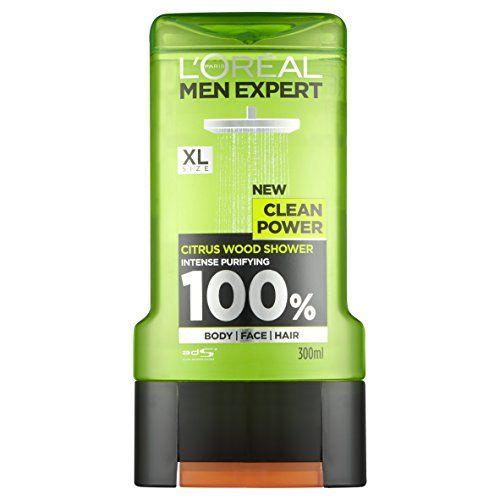 From 1.50:L'oreal Men Expert Clean Power Shower Gel 300ml