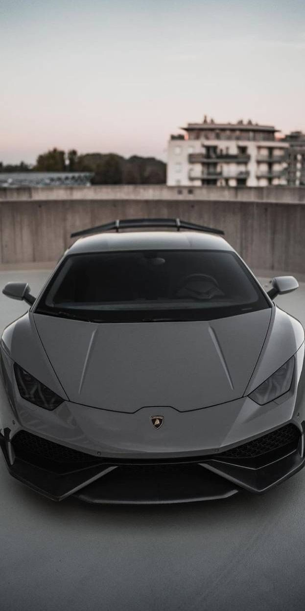 Lamborghini Hurricane Stealth Black Iphone Wallpaper With Images