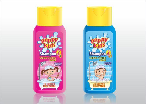 Rótulo para Shampoo Infantil
