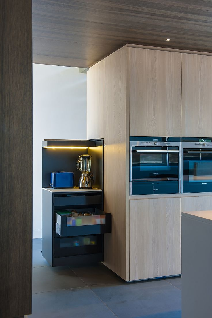 583 best kitchen images on pinterest kitchen designs kitchens innovative design for modern kitchen with hidden shelves that emerge out at the press of a