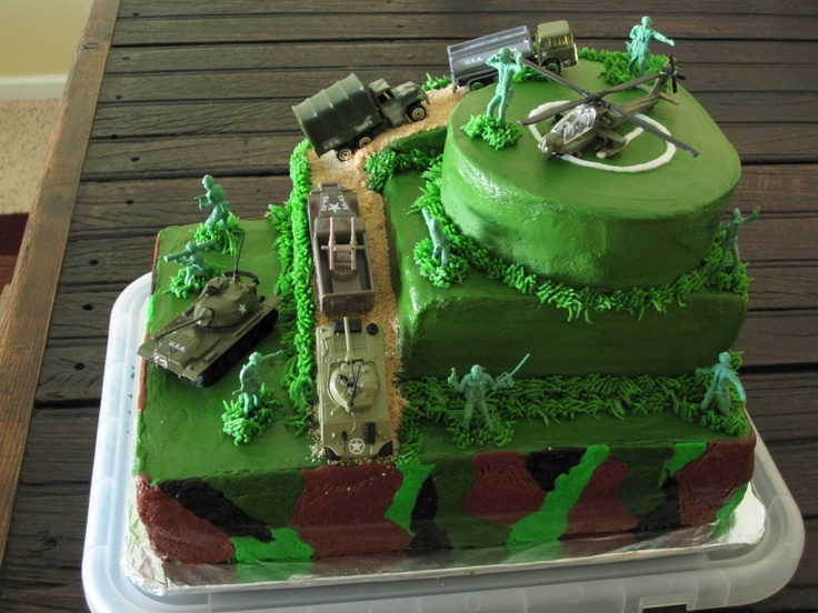 25 best ideas about army cake on pinterest army for Army cake decoration