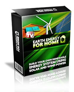 Earth Energy For Home - Create Free Electricity Using Solar Power And Wind Power. Build Your Own Homemade Solar Panels And Wind Power Generators/Windmills Today!
