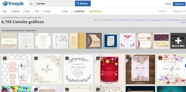 Fazer convite online grátis para imprimir: 4 melhores sites!
